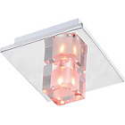 more details on Litecraft Ice 1 Light LED Ceiling Light - Colour Changing.