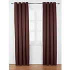 more details on ColourMatch Lima Eyelet Curtains - 168x183cm - Chocolate.