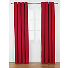 more details on ColourMatch Lima Eyelet Curtains - 168x183cm - Poppy Red.