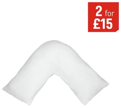 Buy Home Orthopaedic V Shaped Support Pillow At Argos Co
