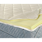 more details on Living Luxury 7cm Memory Foam Mattress Topper-Super Kingsize