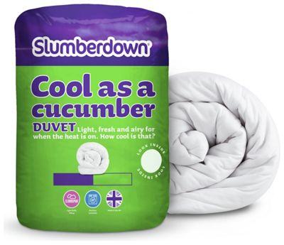 Buy Slumberdown Cool As A Cucumber 4 5 Tog Duvet Double
