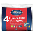 more details on Silentnight Bounce Back Pillows - 2 Pack + 2 Free.