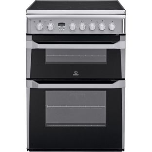 Indesit ID60C2XS Double Electric Cooker