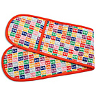 more details on Stamp Collection Multi Coloured Oven Glove.