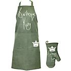 more details on BBQ King Apron Mitt Set.