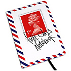 more details on Stamp Collection  A5 Hardback Notebook - First.