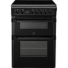 more details on Indesit ID60C2AS Double Electric Cooker - Inst/Del/Rec.