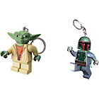 more details on LEGO® LED Lite Key Light - Yoda & Boba Fett Twin Pack.