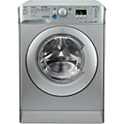 more details on Indesit XWA81482X 8KG 1400 Washing Machine - Ins/Del/Rec.