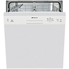 more details on Hotpoint LSB5B019W Full Size Dishwasher - White.