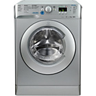more details on Indesit Innex XWA81482XS Freestanding Washing Machine Silver