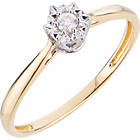 more details on 18ct Gold Diamond Solitaire Ring.