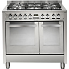 more details on Hotpoint 1EG902GX S Dual Fuel Range Cooker - Stainless Steel