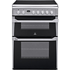 more details on Indesit ID60C2XS Double Electric Cooker - Inst/Del/Rec.