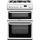 more details on Hotpoint HAG60P Double Gas Cooker - Instal/Del/Rec.