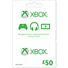 more details on Xbox LIVE �50 Gift Card.