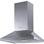 more details on Candy CCE161X 60cm Chimney Cooker Hood - Stainless Steel.