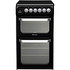 more details on Hotpoint HUE52KS Double Electric Cooker - Inst/Del/Rec.