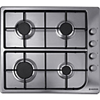 more details on Hoover HGL64SX Gas Hob - Stainless Steel.