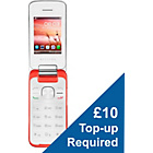 more details on Vodafone Alcatel 20.10G Mobile Phone - Coral.