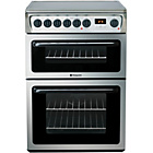 more details on Hotpoint HAE60XS Double Electric Cooker - Stainless Steel.