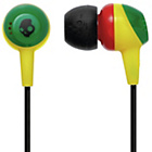 more details on Skullcandy Jib In-Ear Headphones - Rasta.