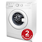 more details on Russell Hobbs RHWM61200W 6KG 1200 Washing Machine - Ins/Del