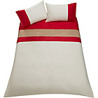 more details on Vinny Red Twin Pack Bedding Set - Double.