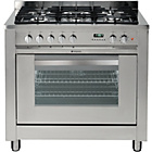 more details on Hotpoint EG900XS Dual Fuel Range Cooker - Stainless Steel.