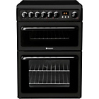 more details on Hotpoint HAE60KS Double Electric Cooker - Black.