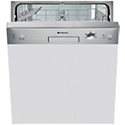 more details on Hotpoint LSB5B019X Full Size Dishwasher - Stainless Steel.