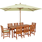 more details on Madison 8 Seater Dressed Patio Furniture Set.