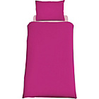 more details on ColourMatch Funky Fuchsia Bedding Set - Single.