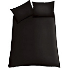 more details on ColourMatch Jet Black Bedding Set- Kingsize.