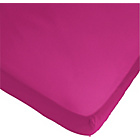 more details on ColourMatch Funky Fuchsia Fitted Sheet - Kingsize.