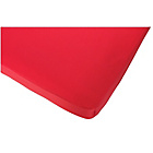 more details on ColourMatch Red Polycotton Fitted Sheet - Single.