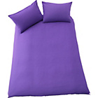 more details on ColourMatch Purple Fizz Bedding Set - Double.