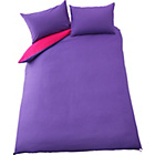 more details on ColourMatch Purple Fizz/Funky Fuchsia Bedding Set - Double.