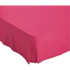 more details on ColourMatch Funky Fuchsia Polycotton Valance Sheet-Double.