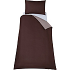 more details on ColourMatch Chocolate/Cafe Mocha Bedding Set - Single.
