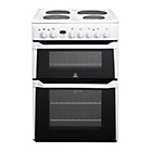 more details on Indesit ID60E2WS Double Electric Cooker - White.