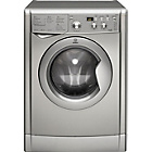 more details on Indesit Eco-Time IWDD7143S Freestanding Washer Dryer Silver