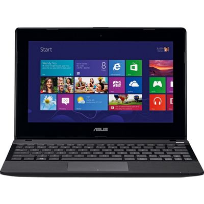 Asus X102BA 10.1 Inch 4GB 500GB Touch Laptop  Black