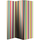 more details on Bright Stripe Room Divider - Multicoloured.
