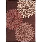 more details on Heart of House Chrisse Rug 170x120cm - Chocolate.