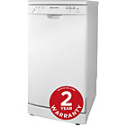 more details on Russell Hobbs RHSLDW2 Dishwasher - White/Ins/Del/Rec.