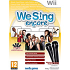 more details on We Sing Encore with 2 Mics - Wii Game.