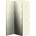 more details on Damask Room Divider - Cream.