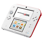 more details on Nintendo 2DS Console - White and Red.